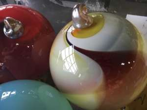 glass art close up