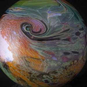 Kelly Howard glass float swirl design
