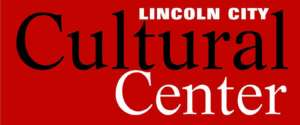 Lincoln City Cultural center Logo Red
