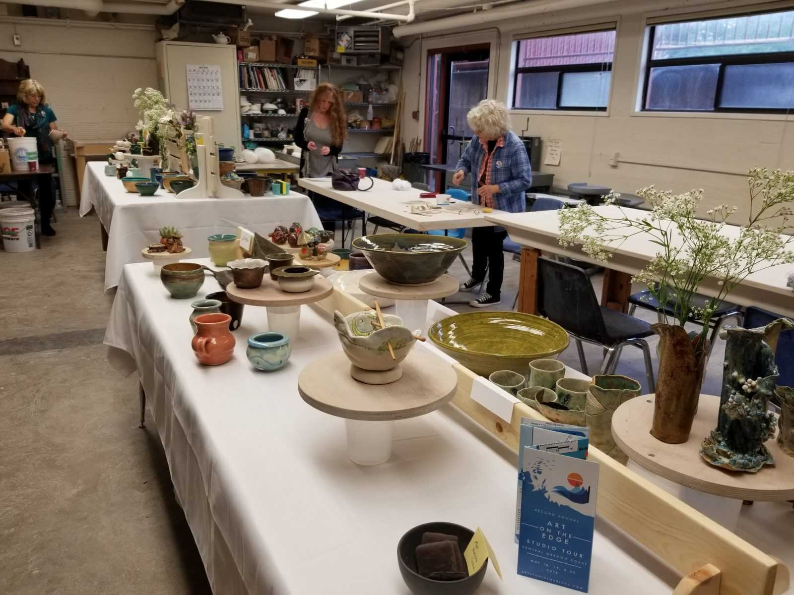 LCCC Clay Studio 2018 display