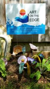 Art on the Edge sign